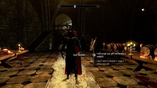 Skyrim SE Dawnguard-Vampire