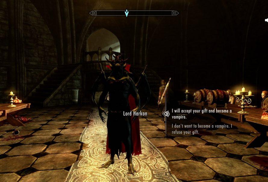Skyrim SE Dawnguard Guide- How to Become a Vampire