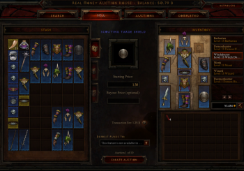Real Money Auction House for Diablo 3 is Now Live
