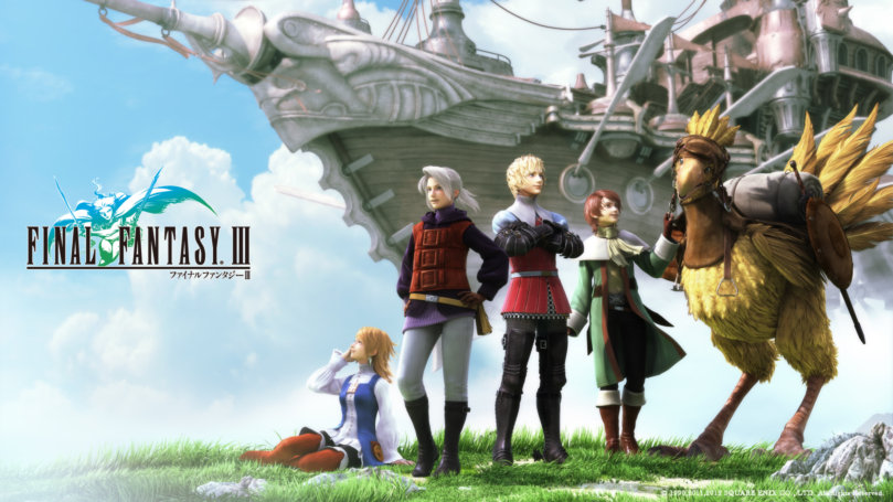 PSP Final Fantasy III Teaser Trailer And Screenshots