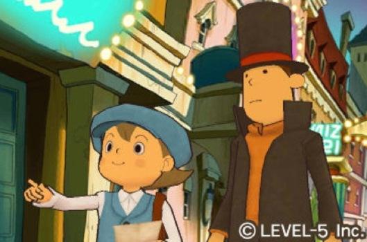 Profesor Layton & The Miracle Mask Dated this November