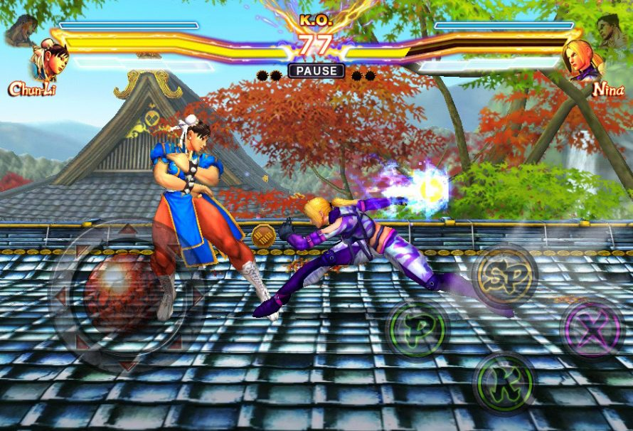 Street Fighter x Tekken Mobile iOS Screenshots