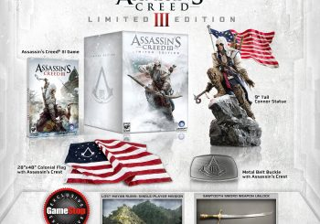 Assassin's Creed III Limited Edition Announced
