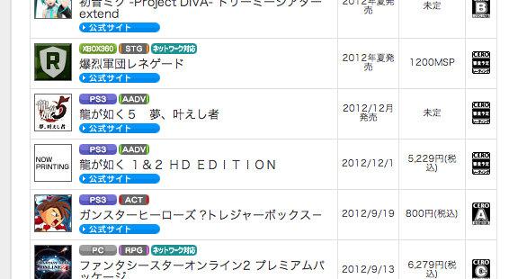 Sega Set To Release Yakuza HD Remakes