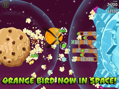Angry Birds Space Updated to Version 1.2.2