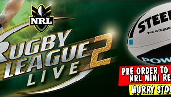 Rugby League Live 2 Pre-Order Incentive Revealed