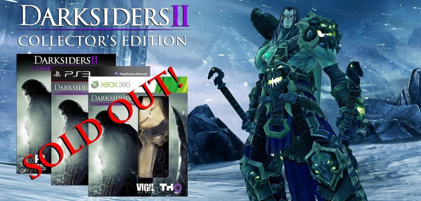 Darksiders II Collector's Edition Sold Out in the US