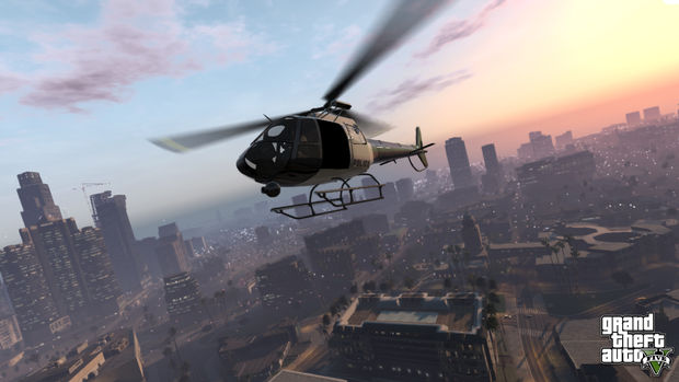 And so the Grand Theft Auto 5 Marketing Begins…