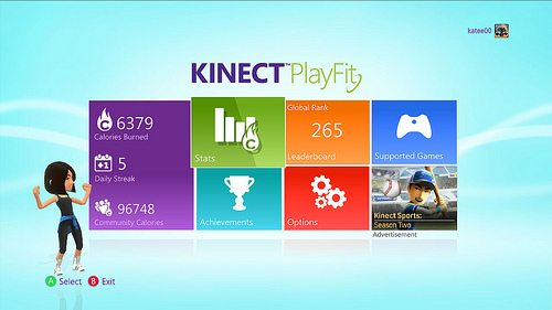 Kinect PlayFit Dashboard Now Out on Xbox Live
