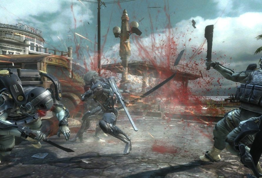 New Metal Gear Rising Revengeance Screenshots Released