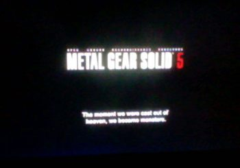 Leaked Metal Gear Solid 5 Images Are Fake