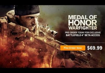 Rumor: Preorder Medal of Honor: Warfighter and Get Battlefield 4 Beta Access