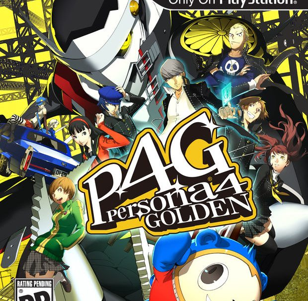 Persona 4: Golden Box Art Released