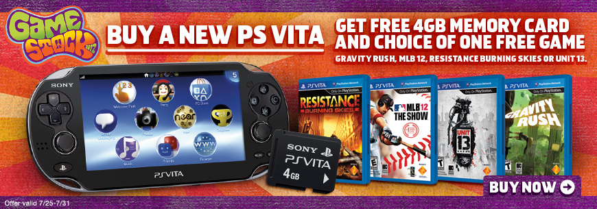 Gamestop Offering a Great PS Vita Bundle this Week