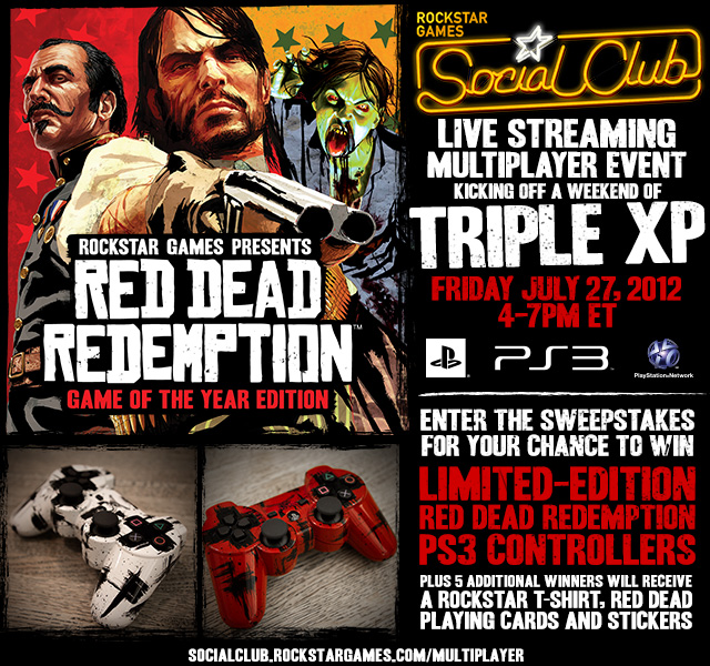 Red Dead Redemption Triple XP Event Starts Tomorrow on PSN