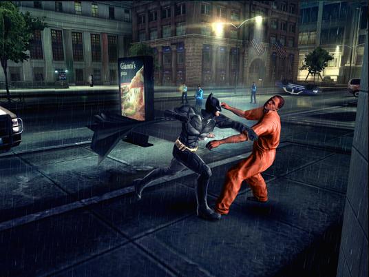 The Dark Knight Rises Video Game Screenshots