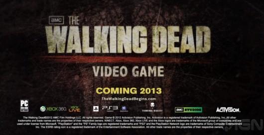 Activision Bringing The Walking Dead FPS Game