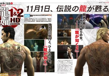 First Look: Yakuza 1 & 2 HD Edition