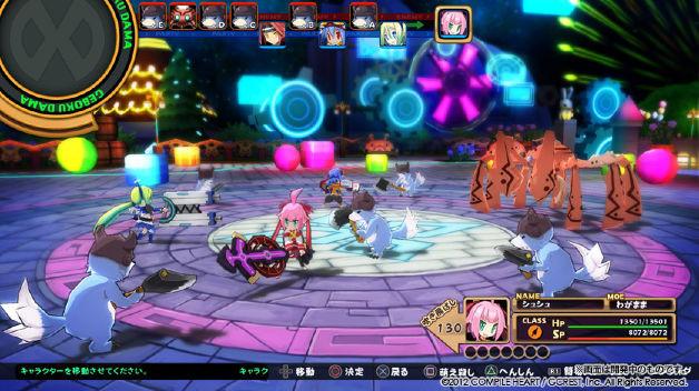 Mugen Souls Hands On Gameplay