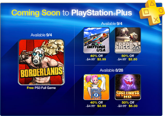 Borderlands Free With Playstation Plus Next Month