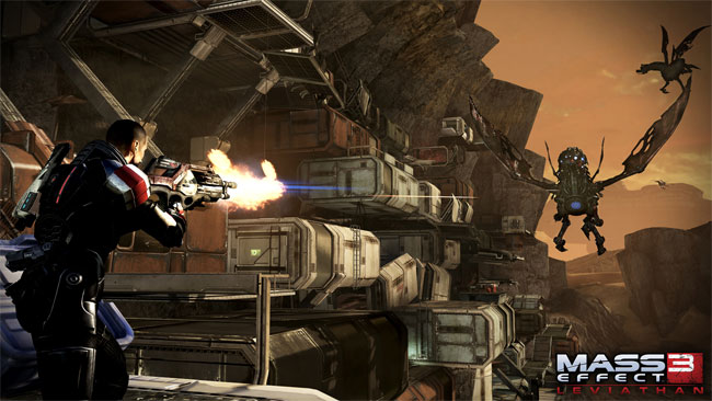 Mass Effect 3 – Leviathan DLC Opening Scene