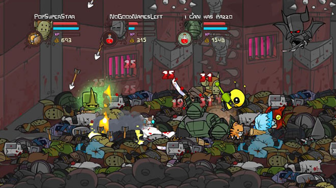 Castle Crashers To Invade Steam… Soon