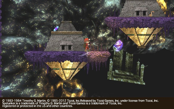 Interesting Spelunker HD DLC News for North Americans