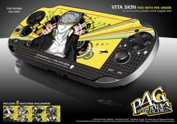 Pre-Order Persona 4 Golden to receive a skin for your Vita