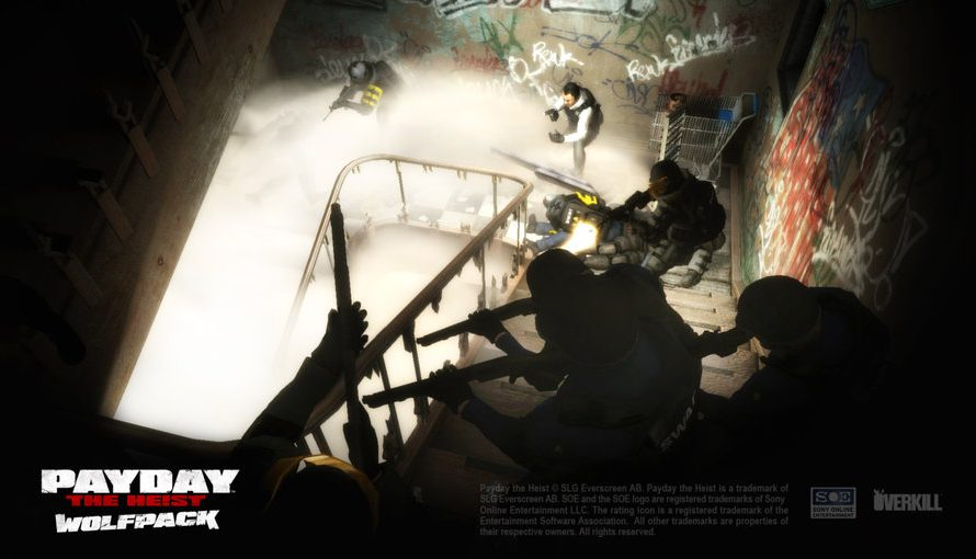 Payday: The Heist WolfPack DLC Now Available