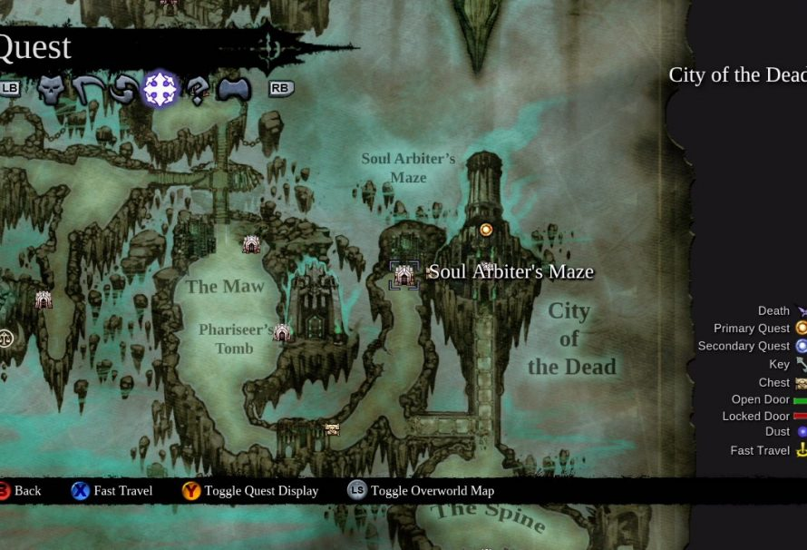 Darksiders II – How to Conquer Soul Arbiter's Maze