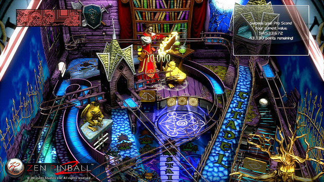 Zen Pinball 2 Coming This Spring; Free Upgrade For Previous Owners