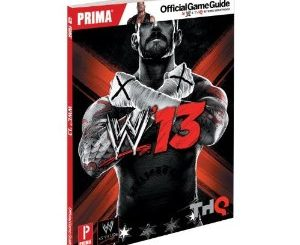 WWE '13 Official Strategy Guide Details
