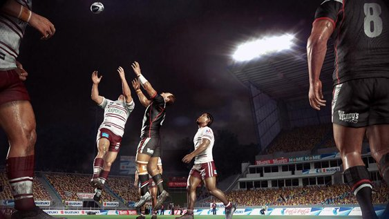 Official Rugby League Live 2 Gameplay Trailer