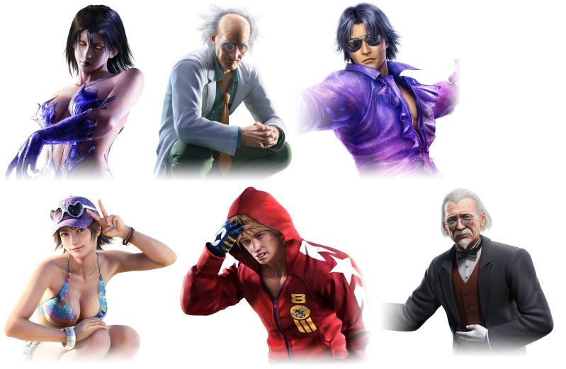 Six Unannounced Characters Found In Tekken Tag Tournament 2