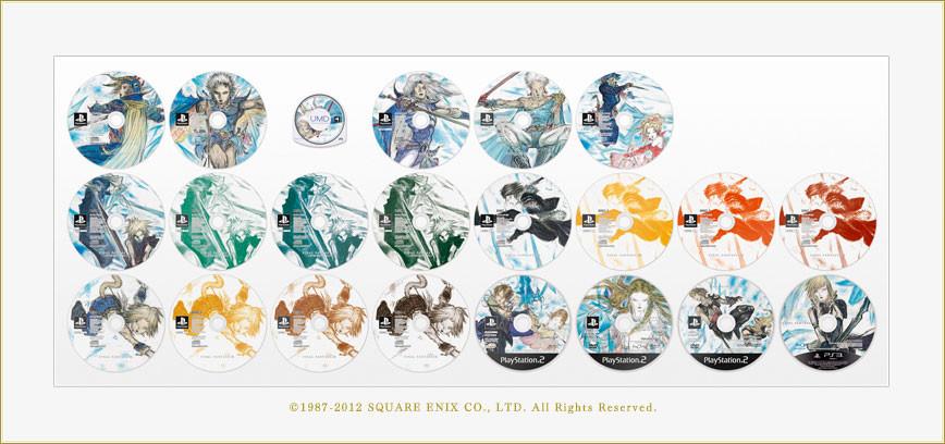 Massive Final Fantasy 25th Anniversary Game Box Announced