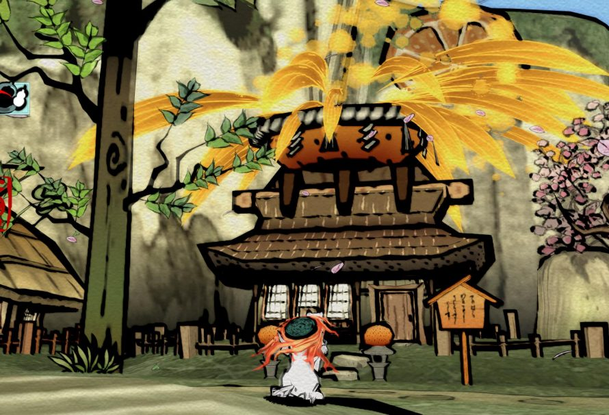 Okami HD Coming this October 30th on PSN