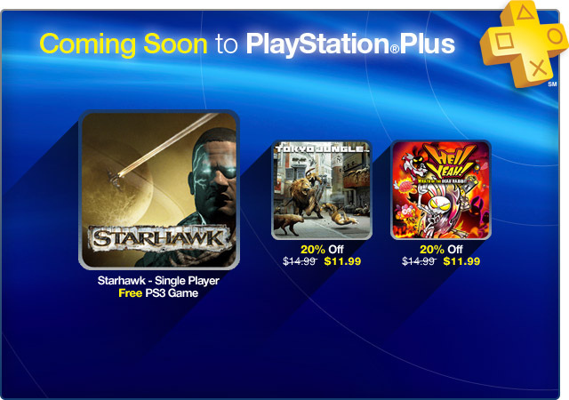 September 25th Playstation Plus Update