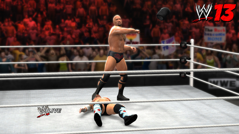 The Rock Lays The Smackdown In New WWE '13 Gameplay Videos