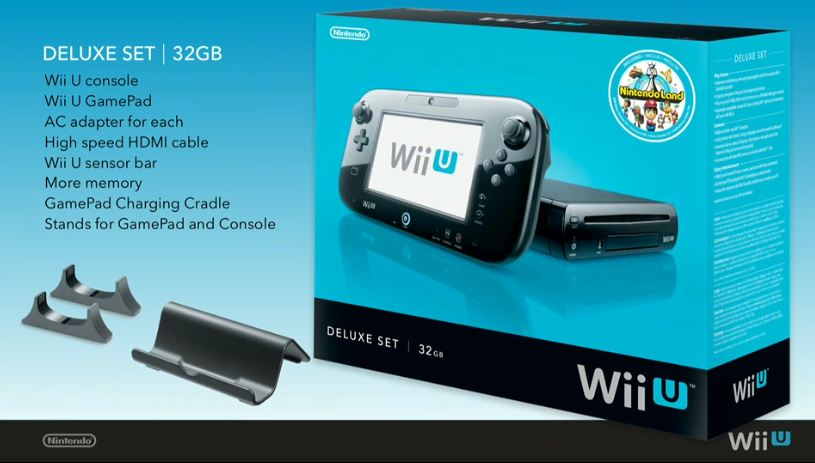 Nintendo Wii U Now Available in North America, Prepare for a Big Firmware Update