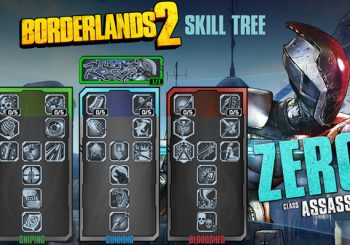 Borderlands 2: Zero's Bloodshed Skill Tree a Risk