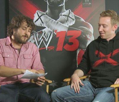 WWE '13 Developer Q&A No. 2 – Cory Ledesma & Aubrey Sitterson