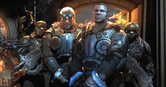 Gears of War: Judgment Playable At Halo 4 Midnight Launch