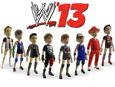 new wwe 13 xbox 360 avatar items now available