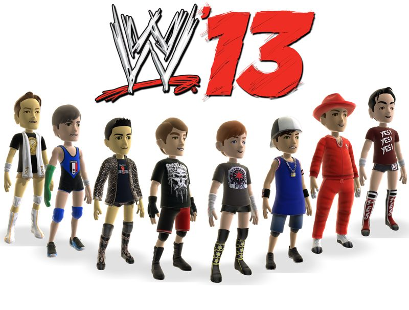 New WWE '13 Xbox 360 Avatar Items Now Available