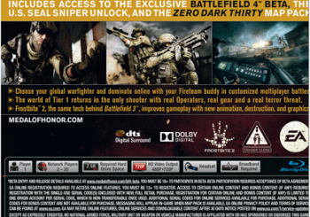 Medal of Honor: Warfighter Install Size Revealed