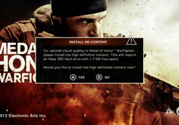 PSA: Medal of Honor Warfighter highly recommends to install HD Texture pack first