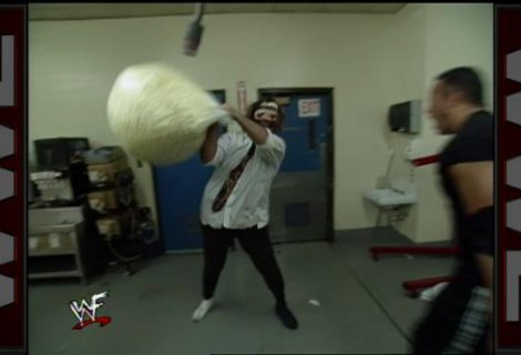 Locating The Forklift During Halftime Heat In WWE '13 Attitude Era Mode