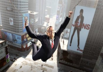 The Amazing Spider-Man Swinging Onto The Wii U