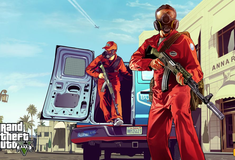 First Official Artwork for Grand Theft Auto V Released