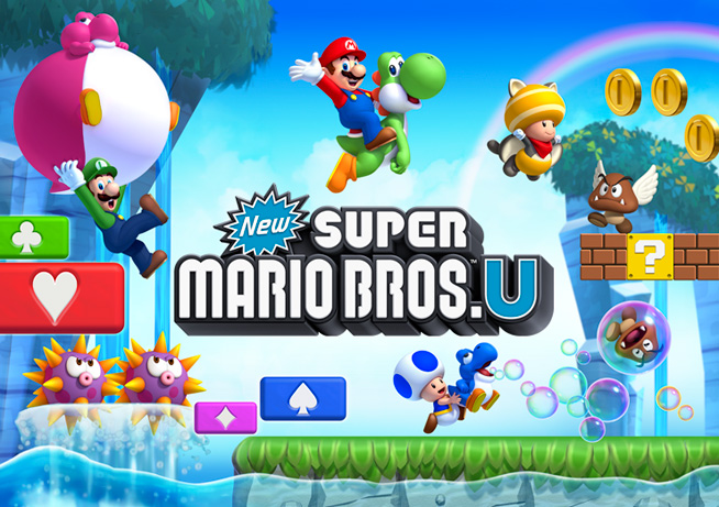 Old Navy Giving Away New Super Mario Bros. U On Black Friday